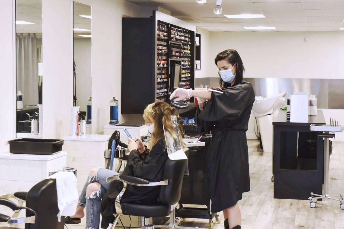 hair salons open in toronto