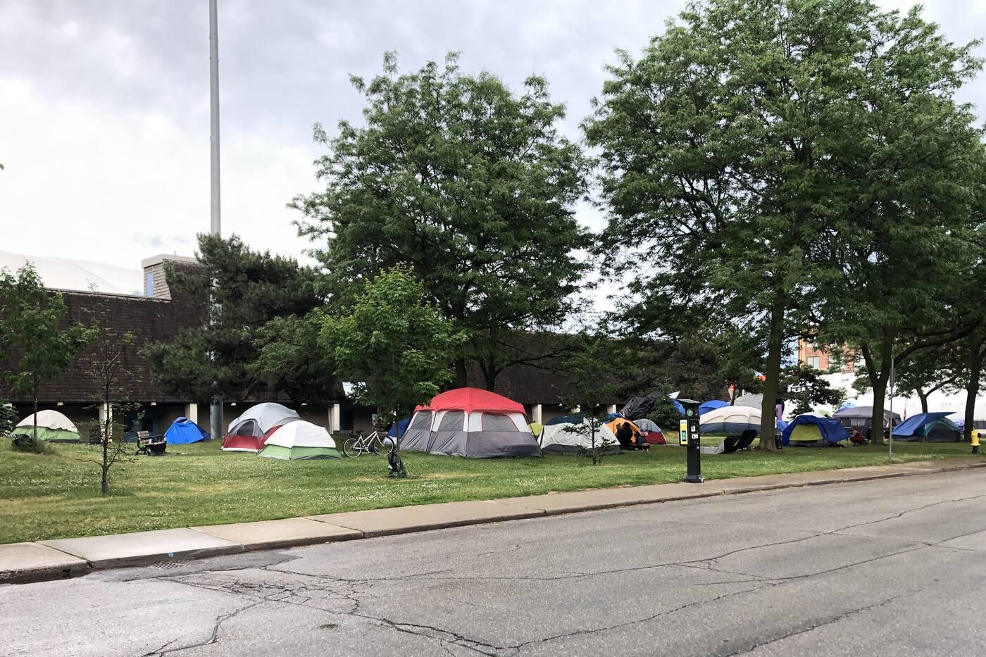 toronto homeless encampments