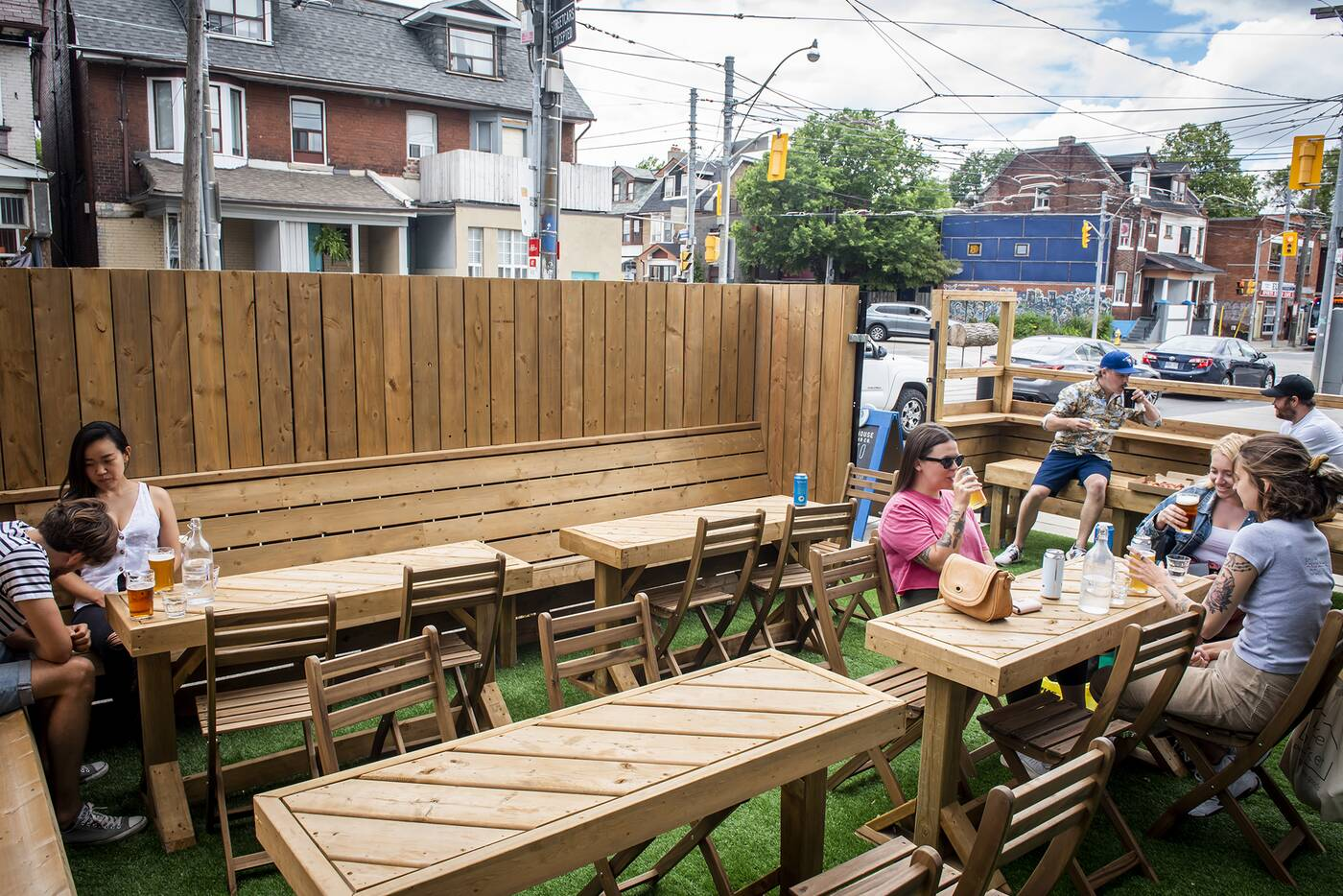Canada Day Patio Open Toronto