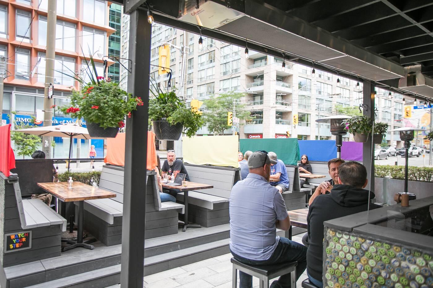 covered patio toronto