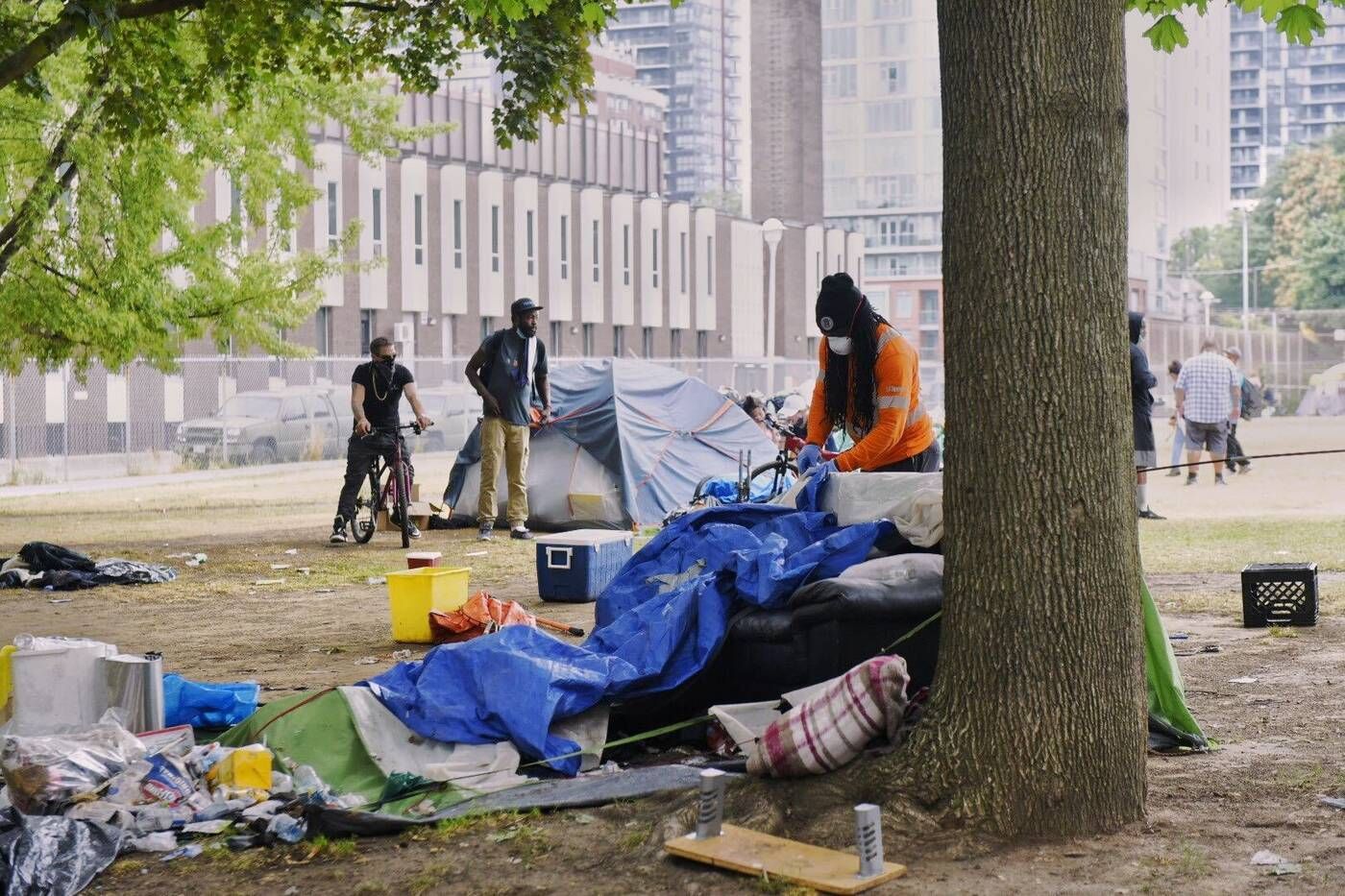 moss park encampment