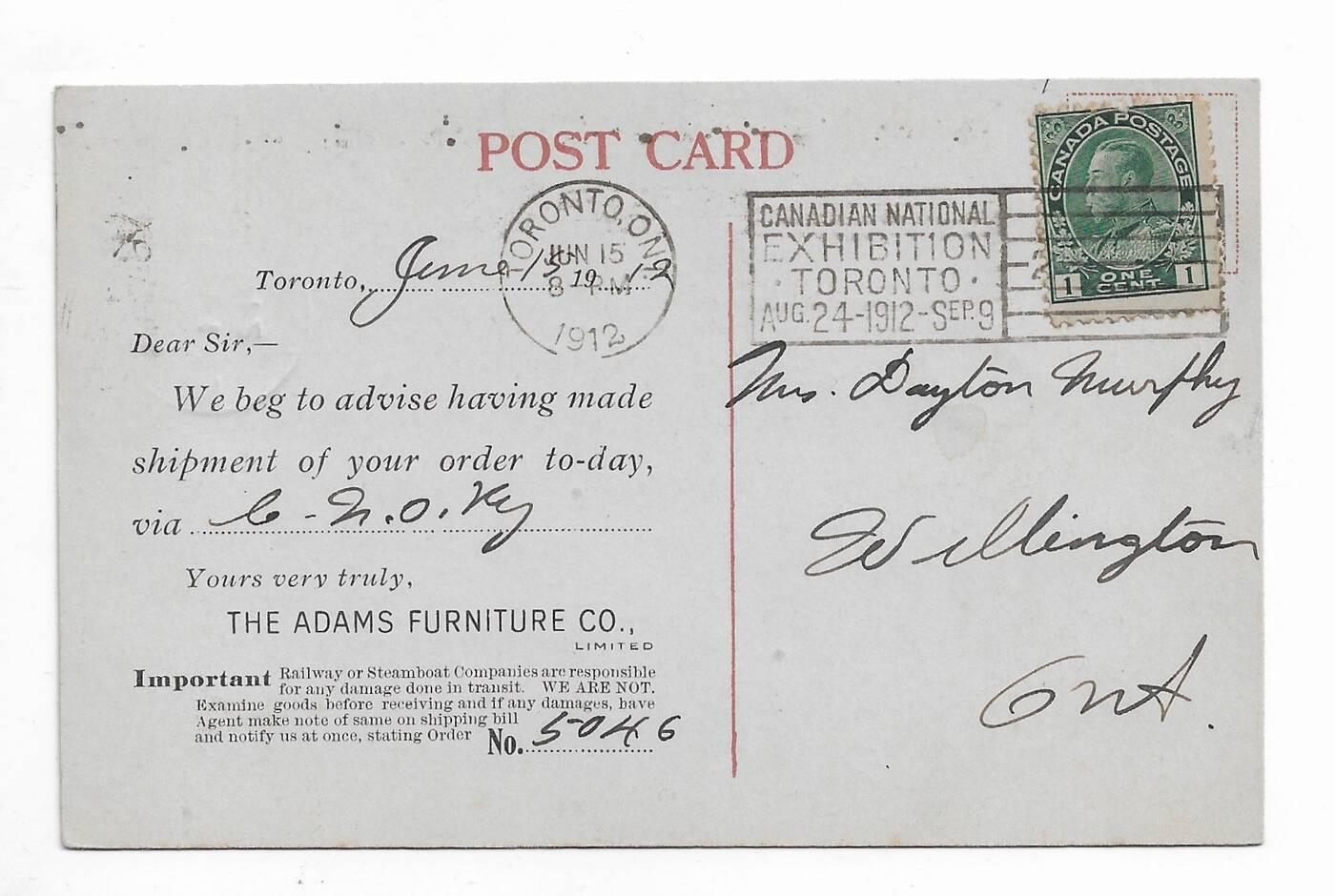 historic postcards toronto