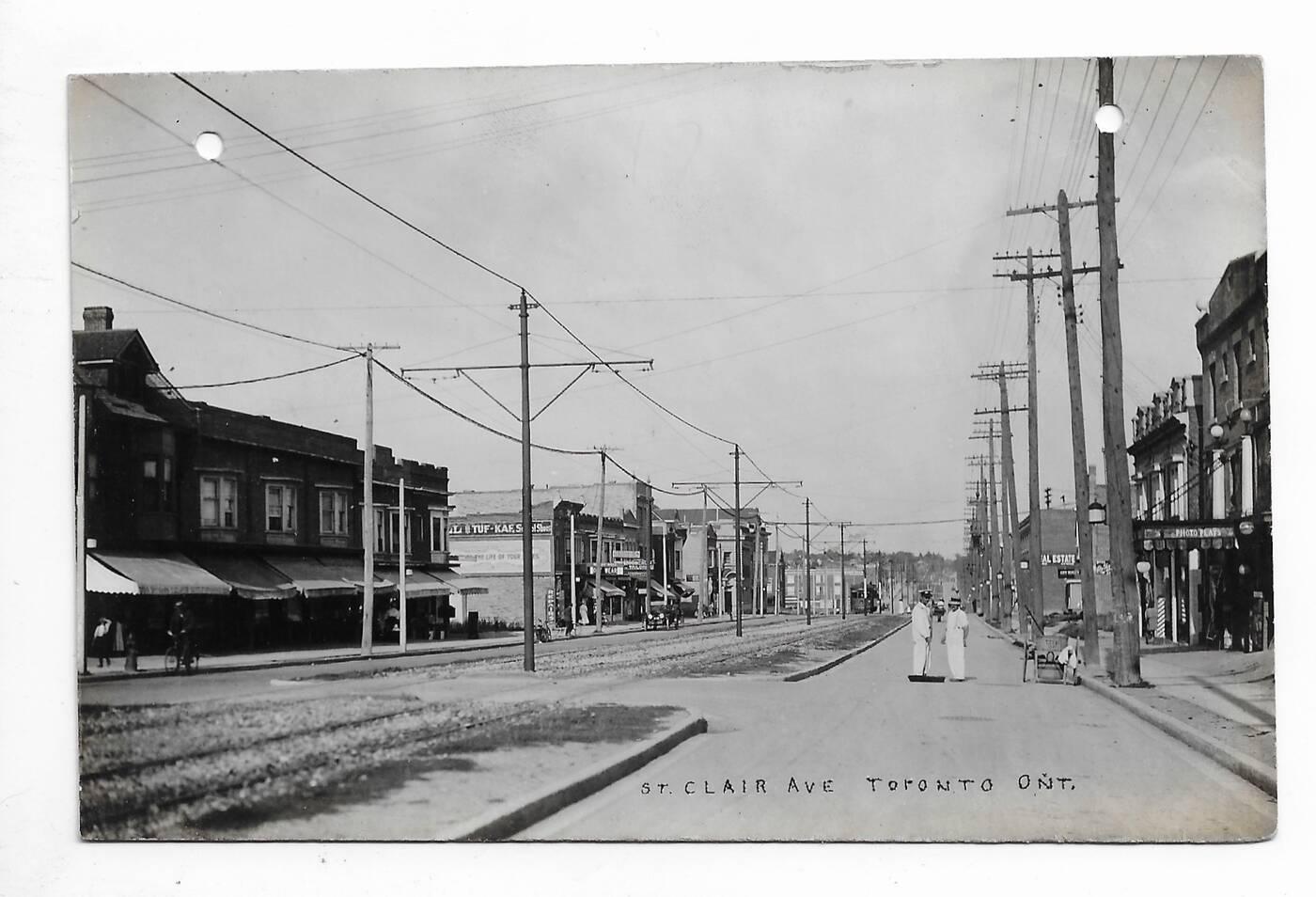 st clair west 1916