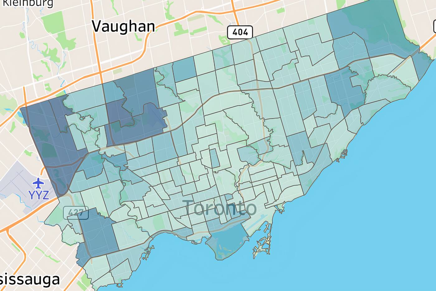 These Are The Toronto Neighbourhoods That Have Had The Most Covid 19 Cases