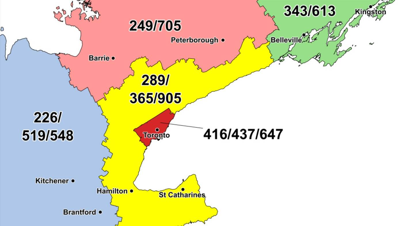 area code torontpo