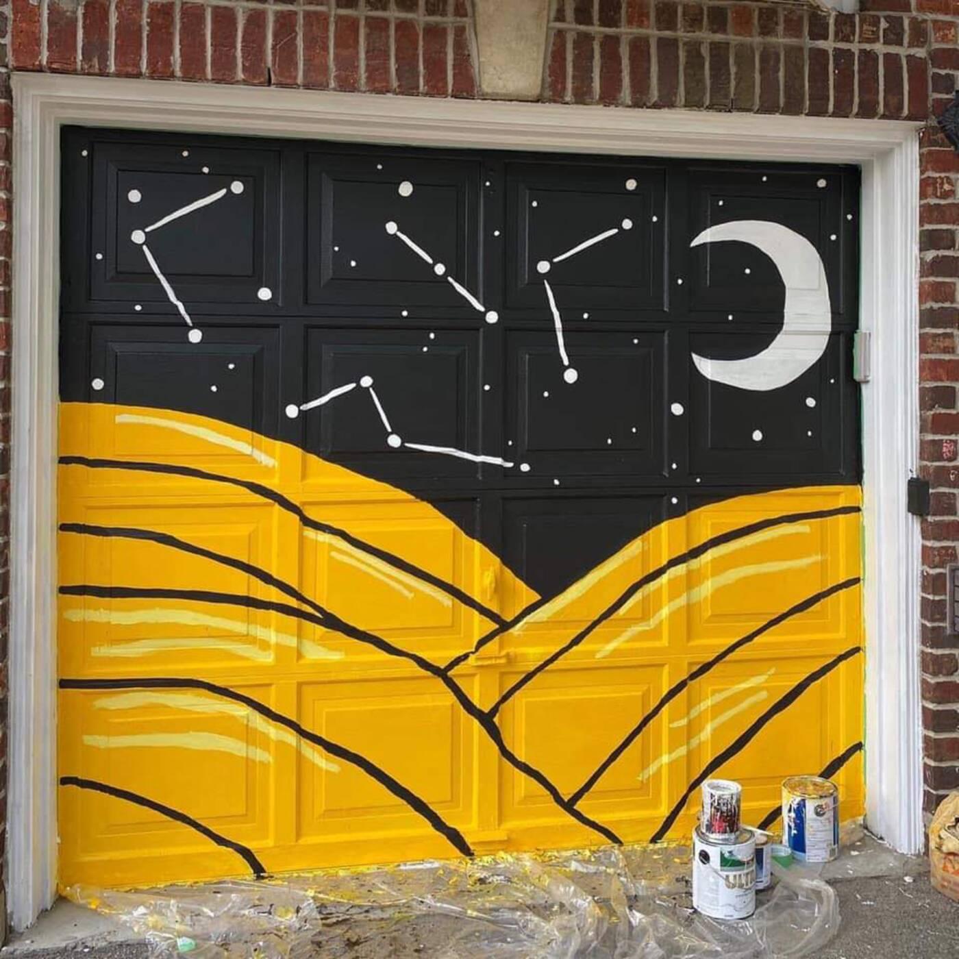 etobicoke garage mural