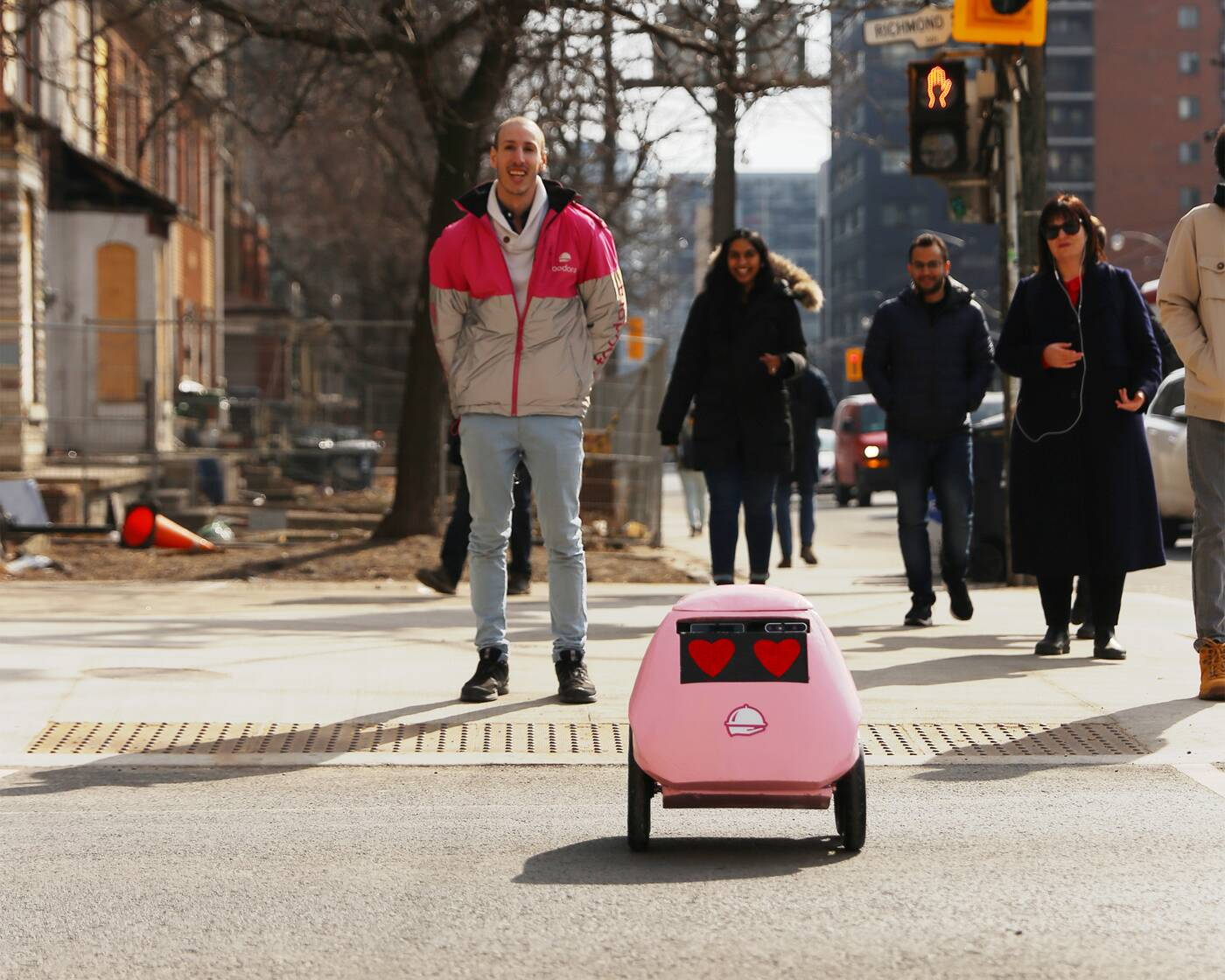 delivery robot toronto
