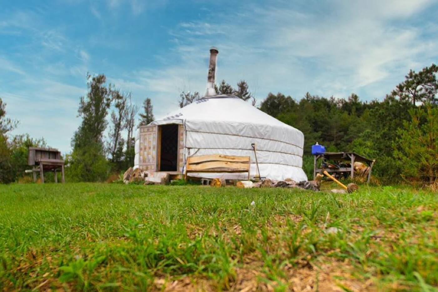 yurt camping ontario