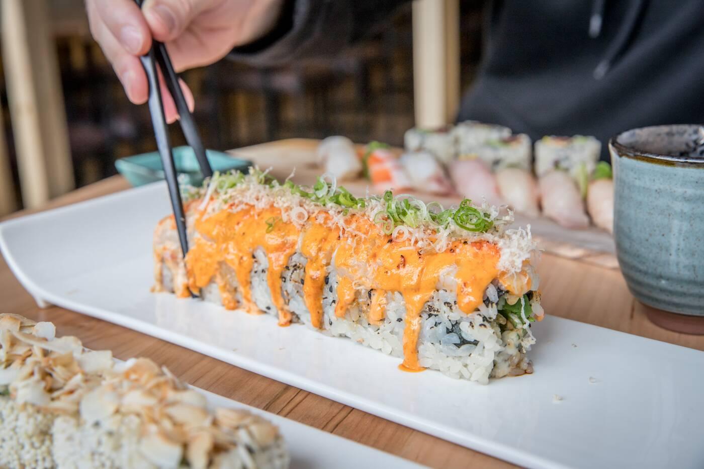 top sushi toronto