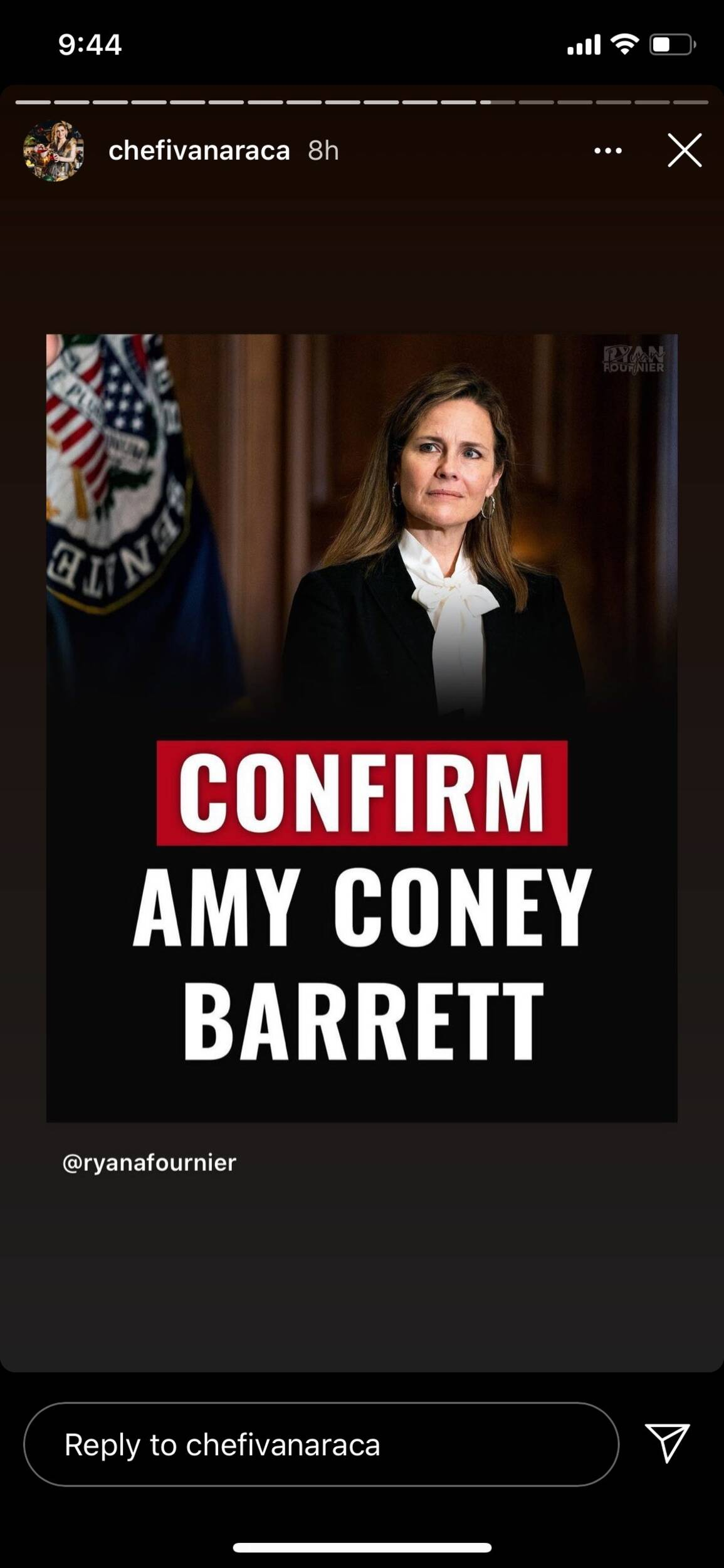 amy coney barrett ivana raca