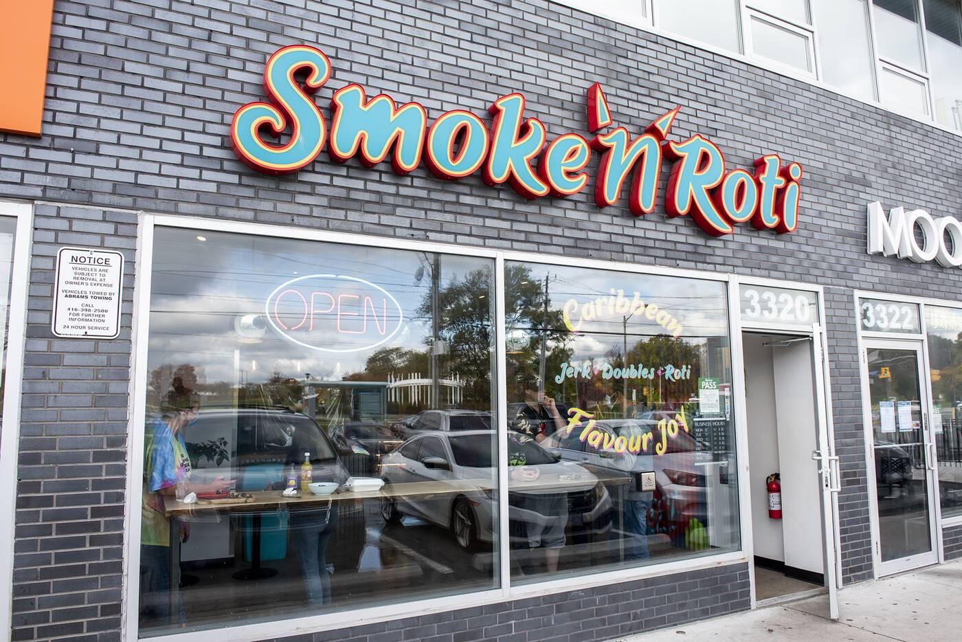 Smoke n Roti Toronto