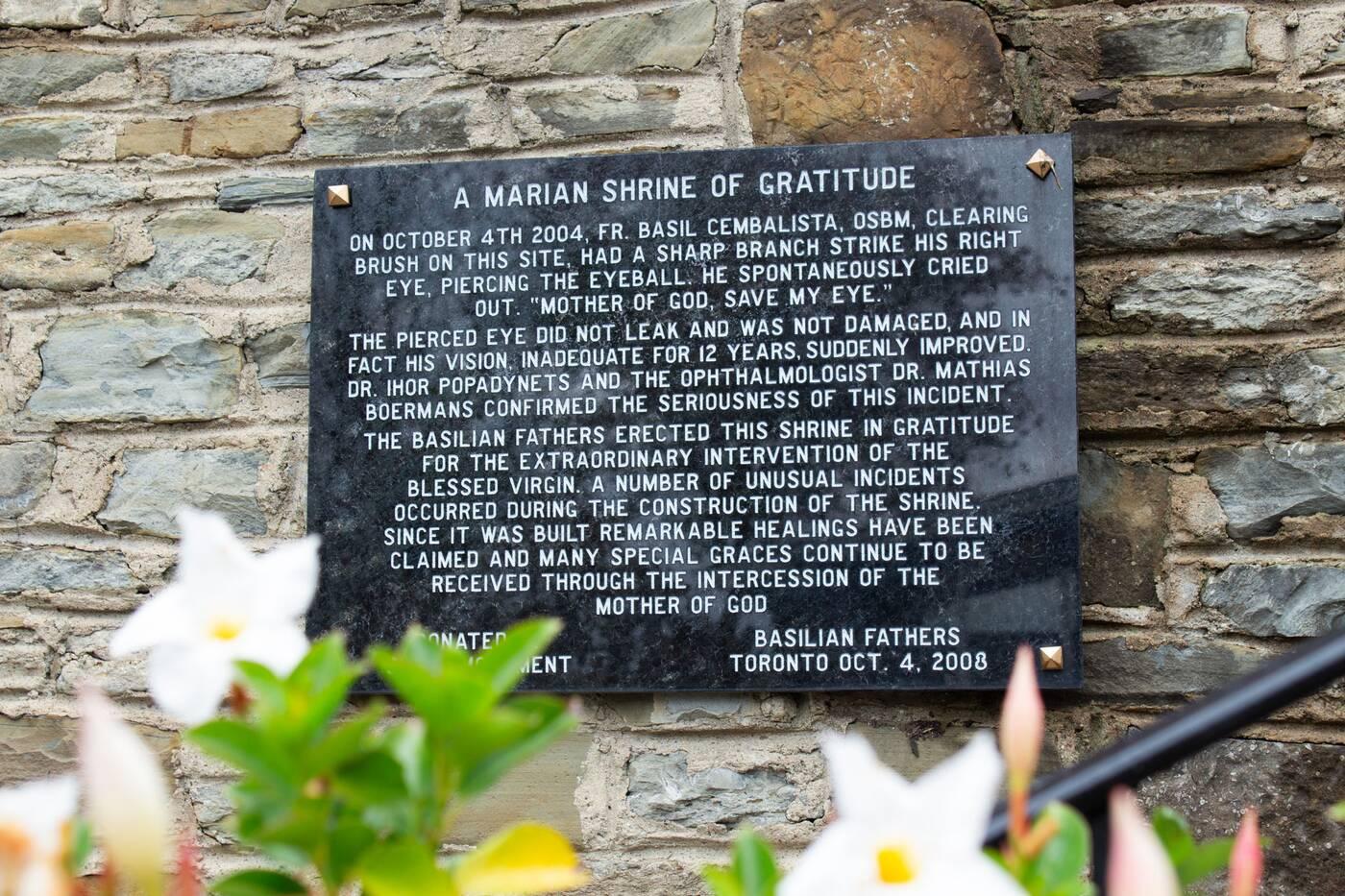 marian shrine of gratitude toronto