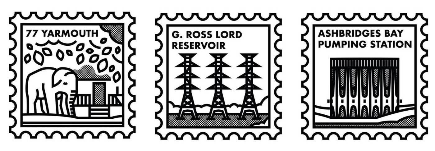 neighbourhood stamps toronto