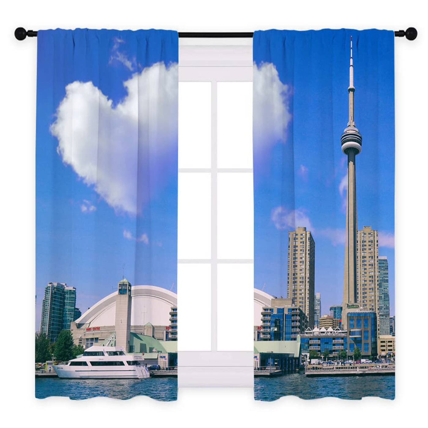 cn tower curtains