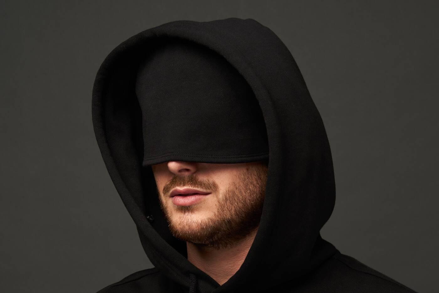 hyper mask hoodie