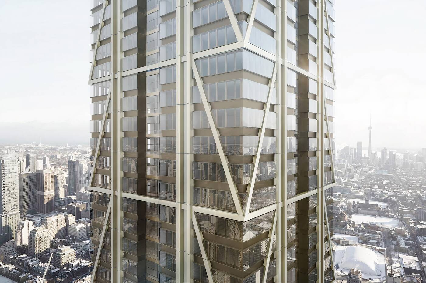 skyscrapers toronto