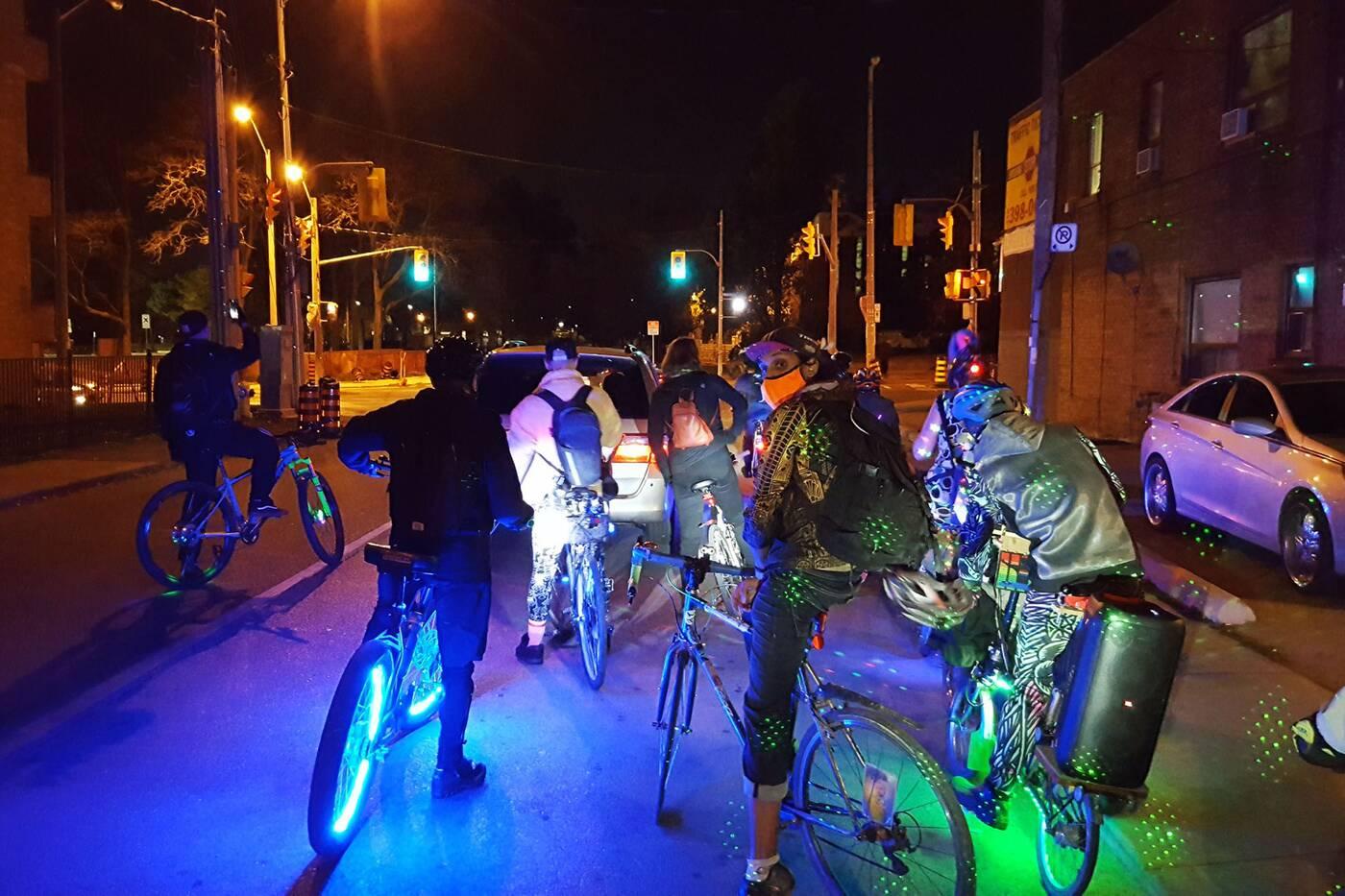 neon riders toronto
