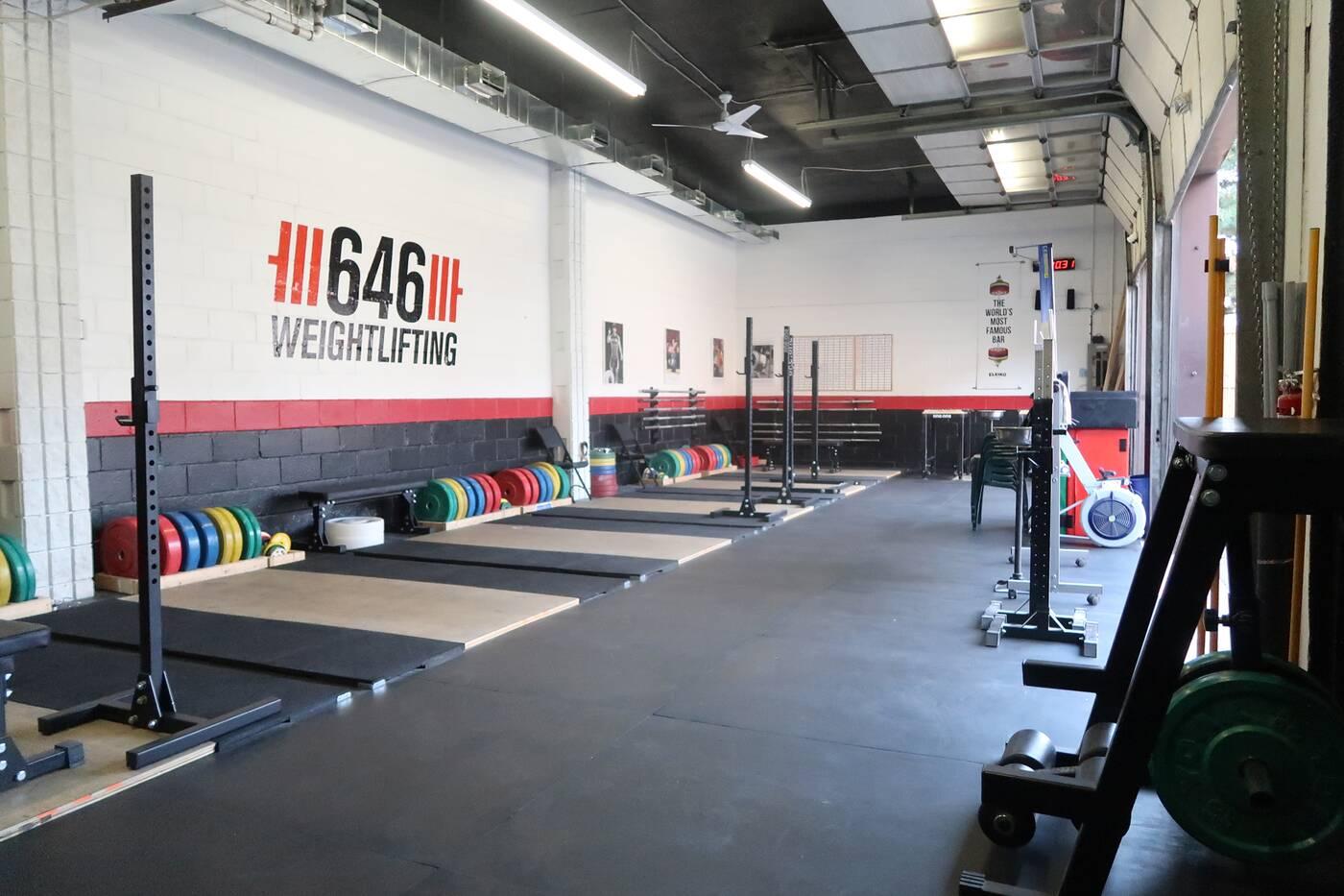 646 weightlifting gym