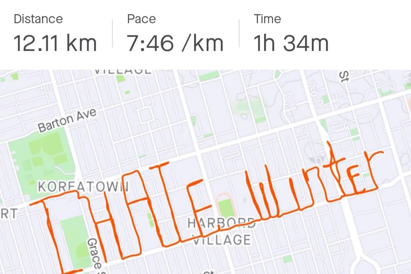 Toronto running