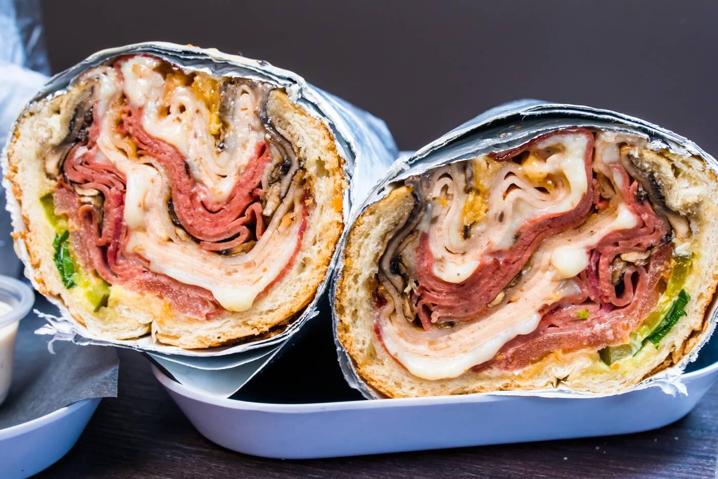 Topol sandwich