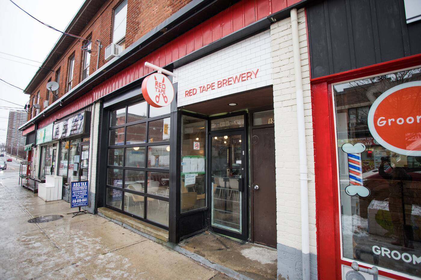 red tape brewery toronto