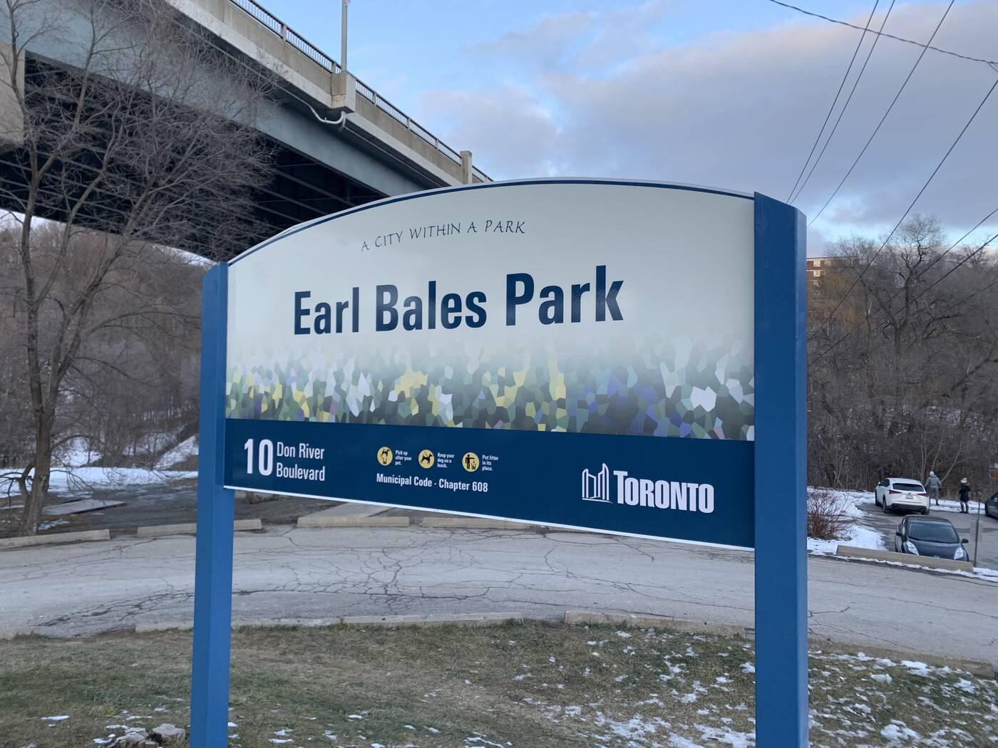 earl bales park toronto