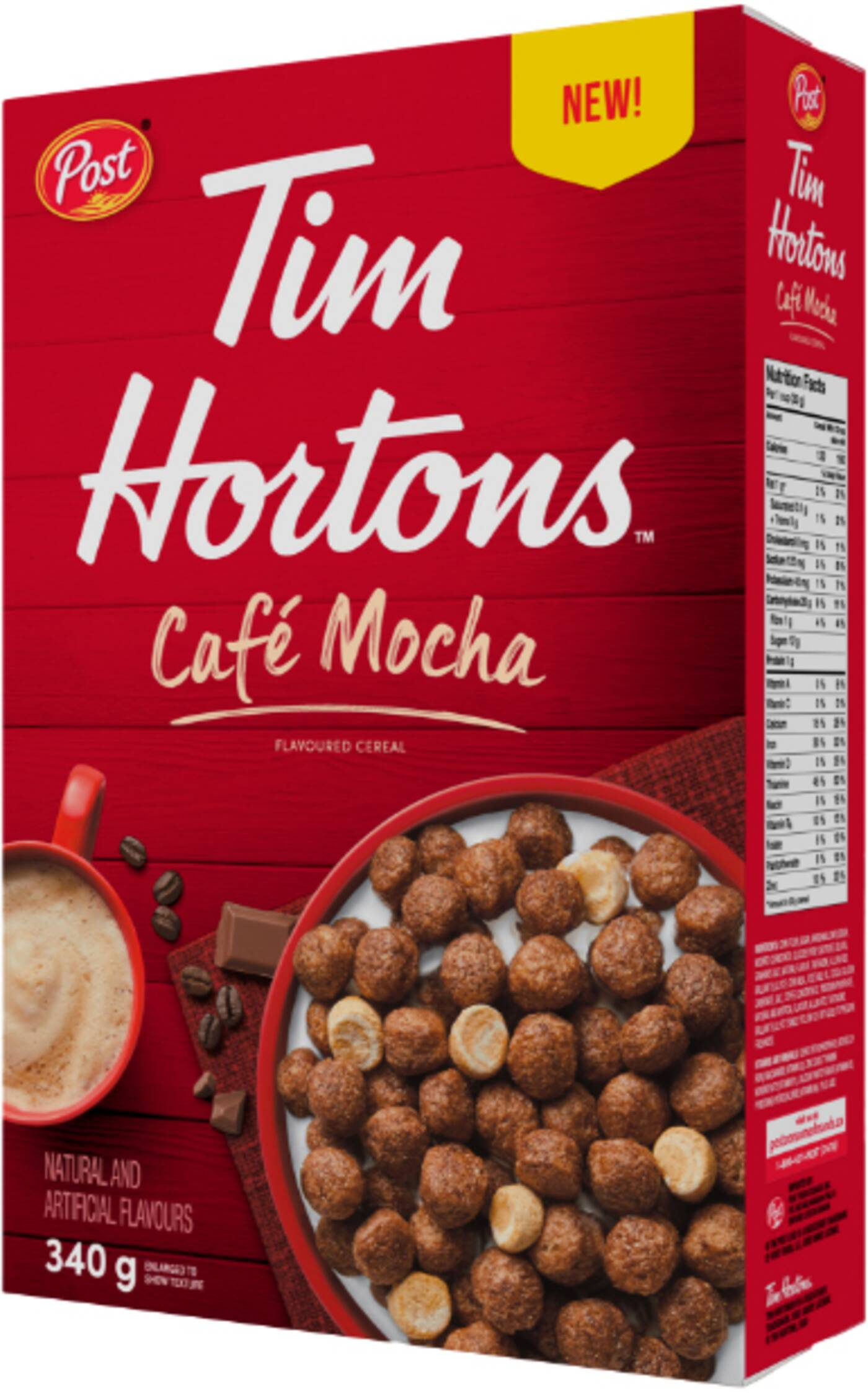 tim hortons coffee cereal