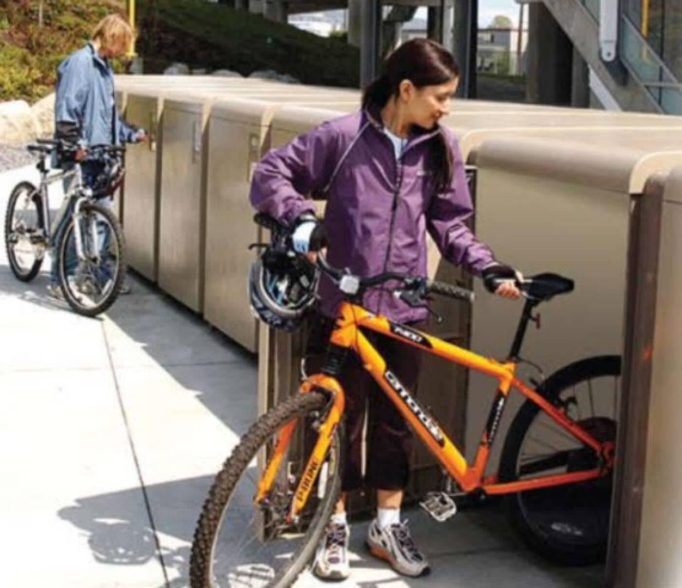 bike lockers toronto