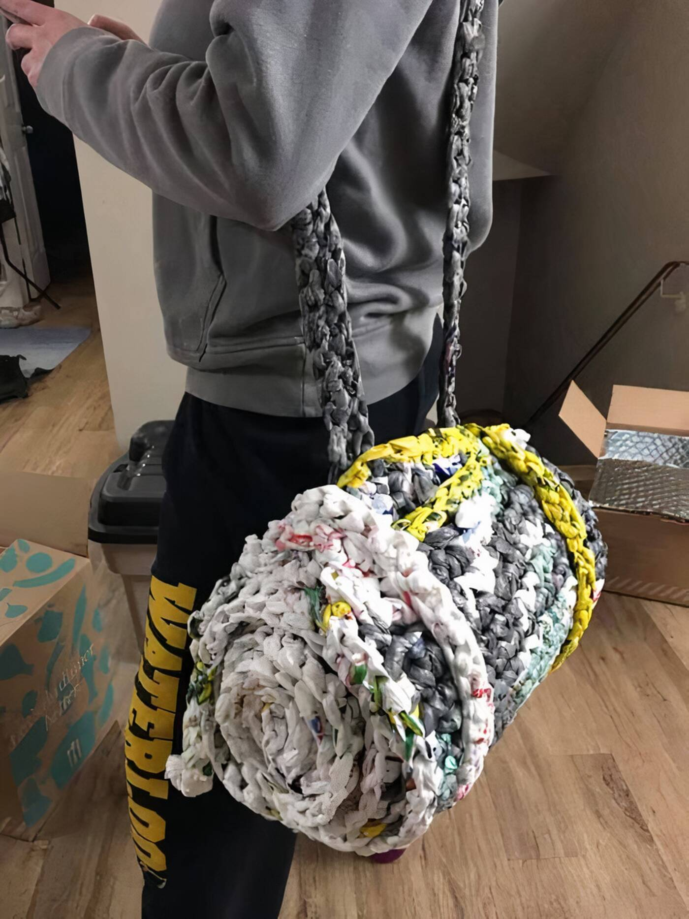 bags to sleeping mats