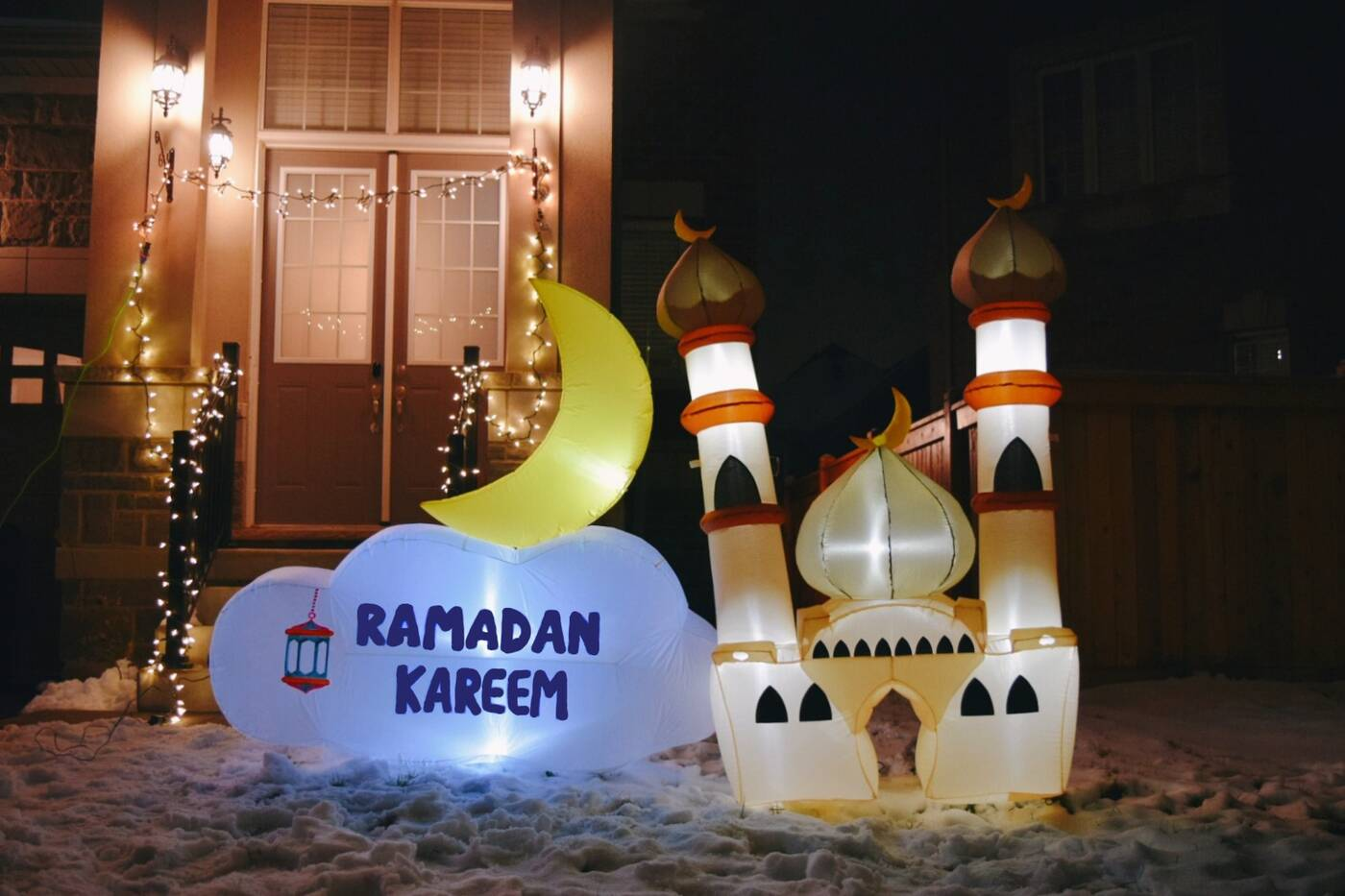 ramadan inflatables