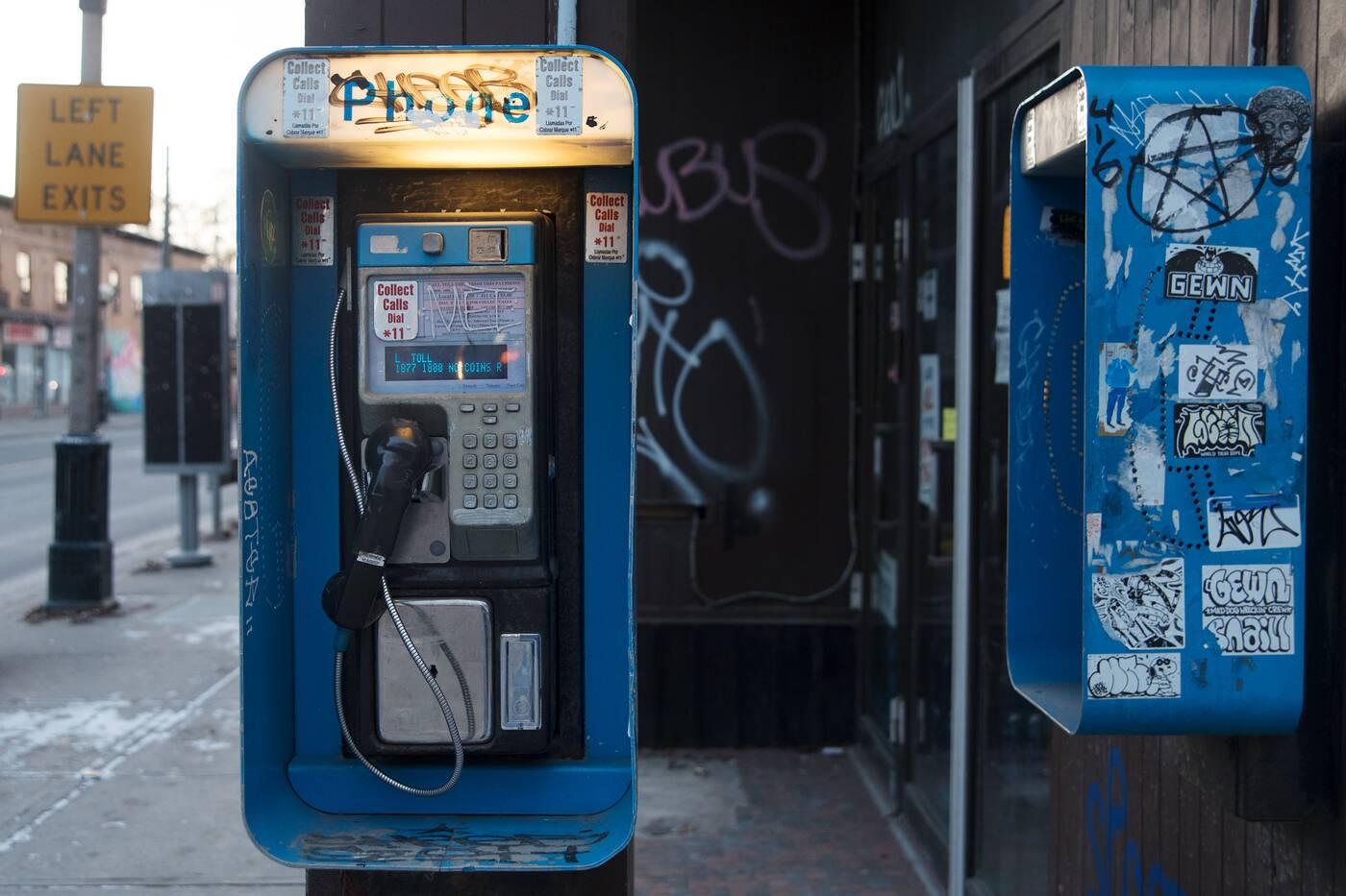 payphones toronto