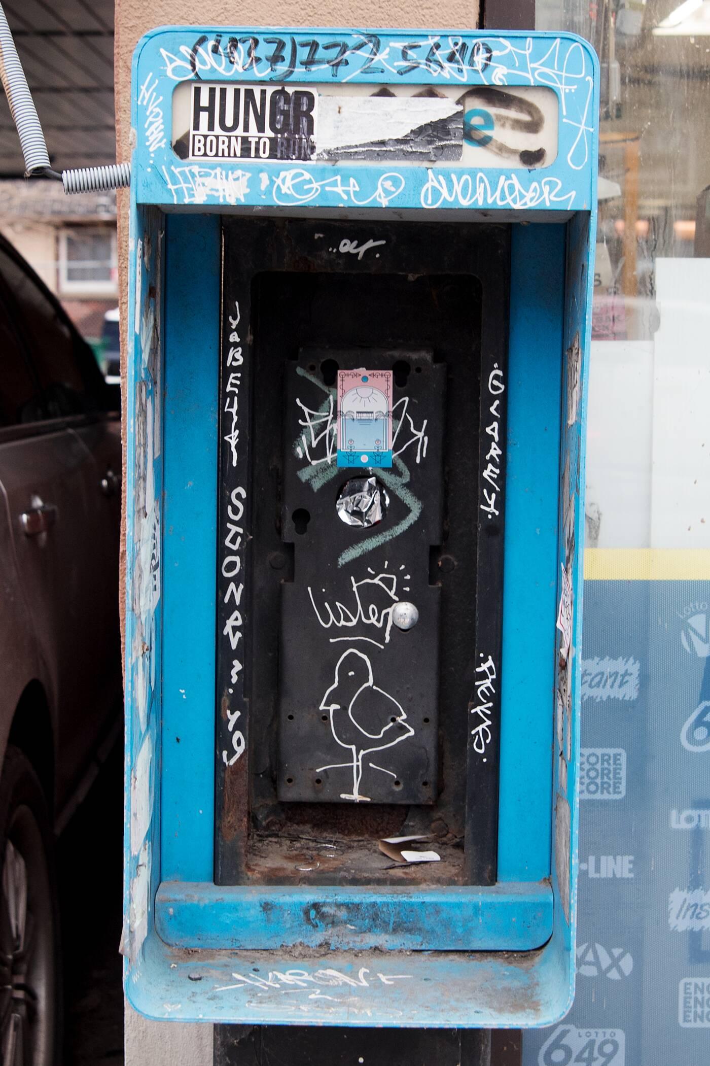 toronto payphones