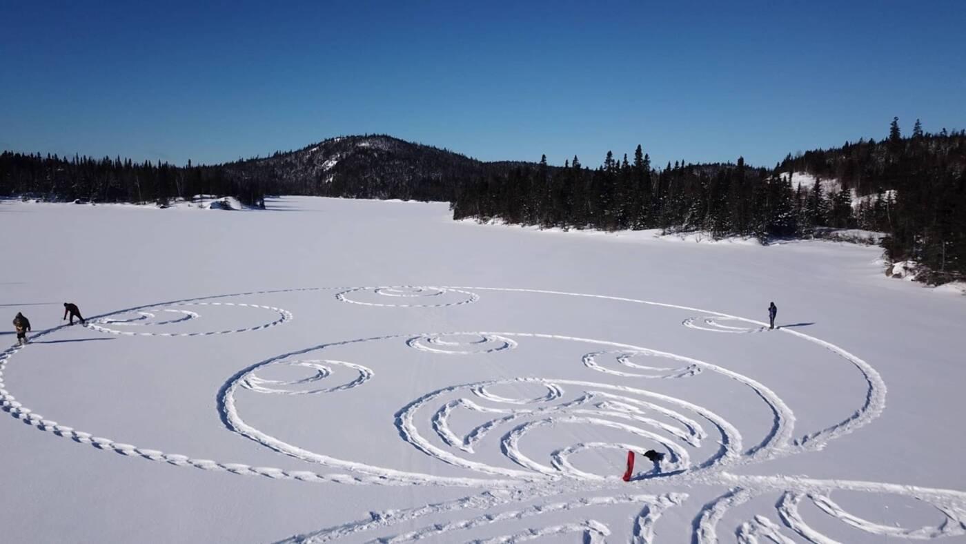 snowshoe art toronto