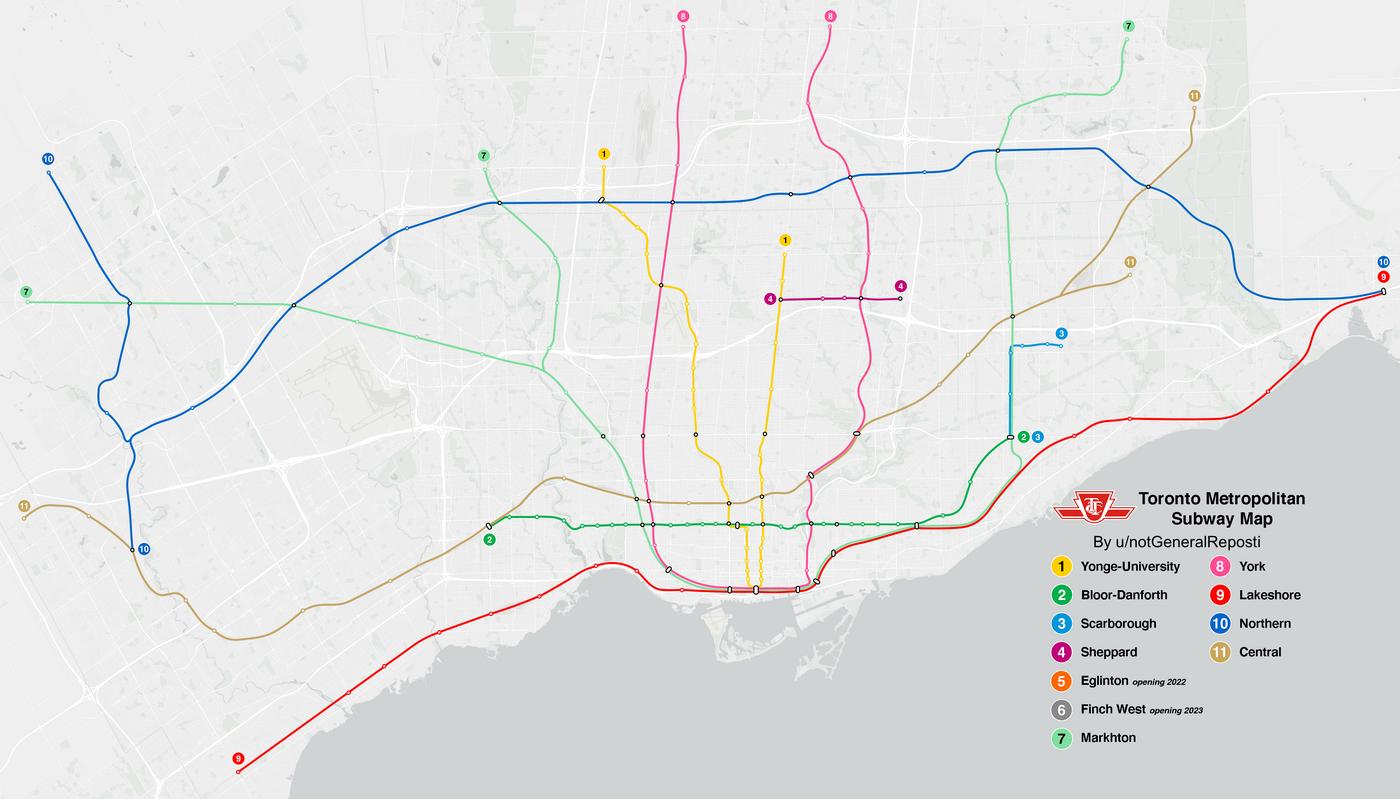ttc map