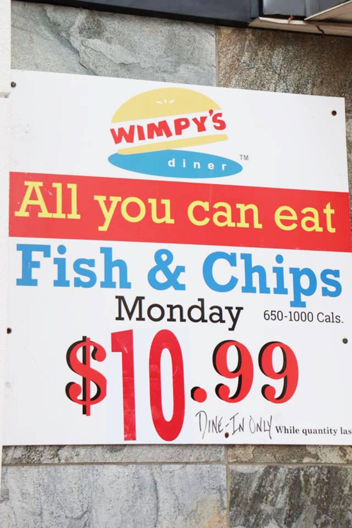 wimps diner toronto