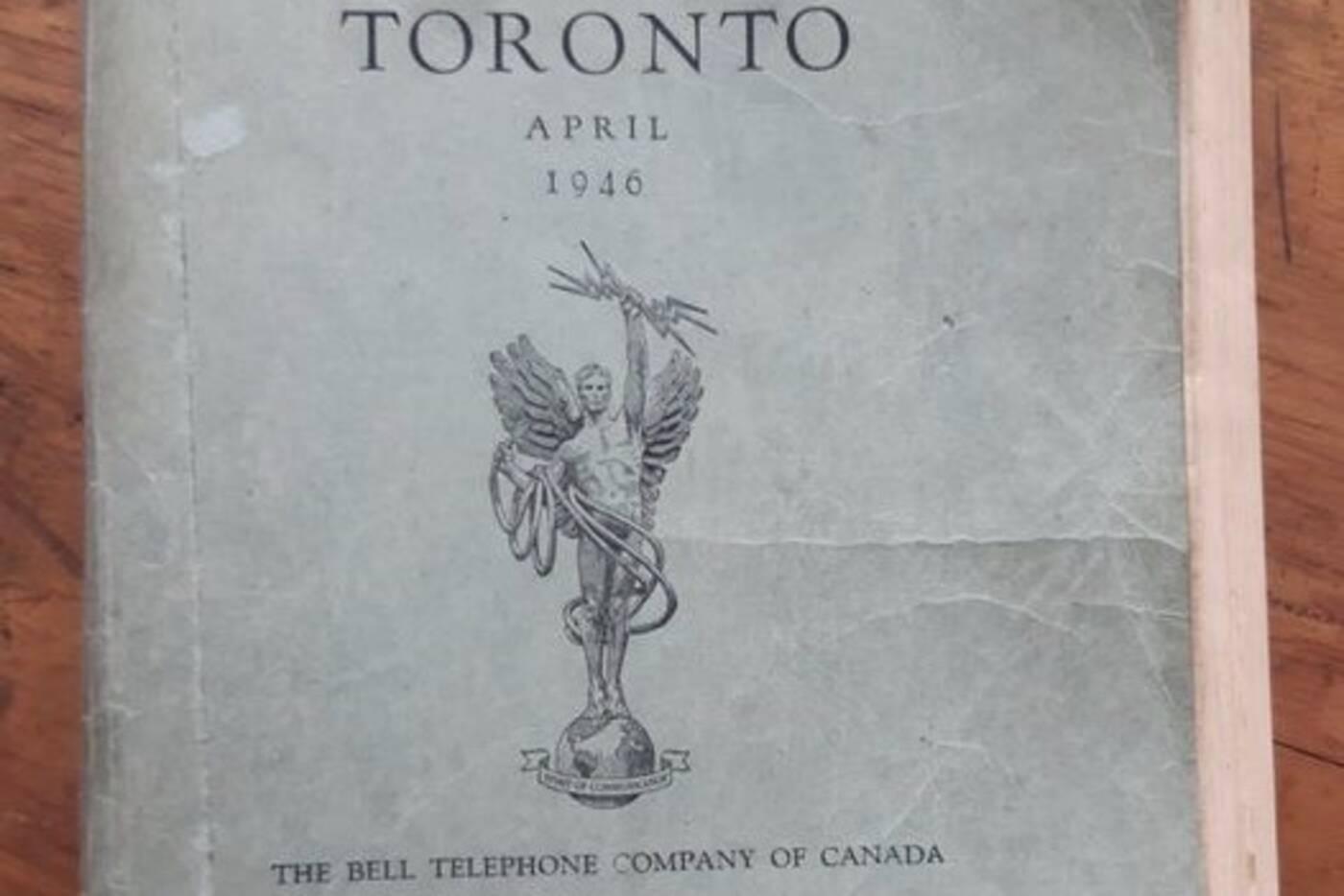 1946 toronto phonebook