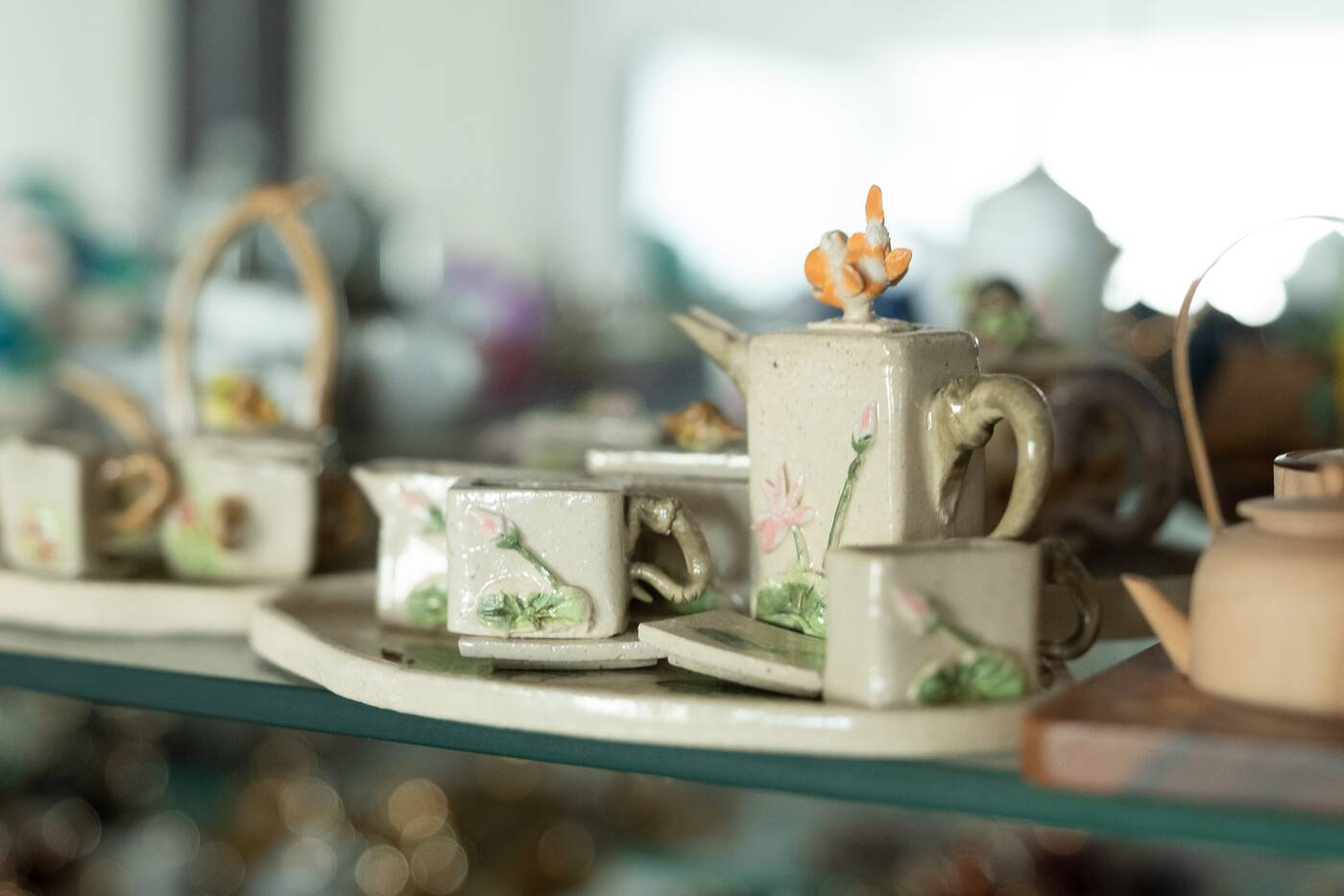 tea set collection