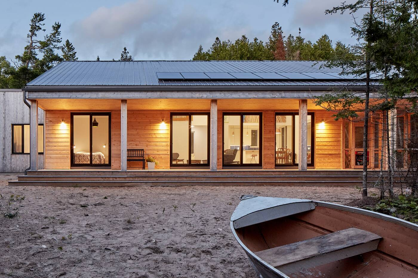 manitoulin island off grid house