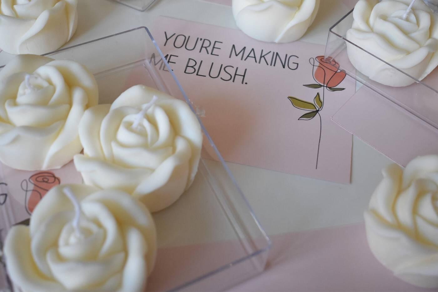 blush candles toronto