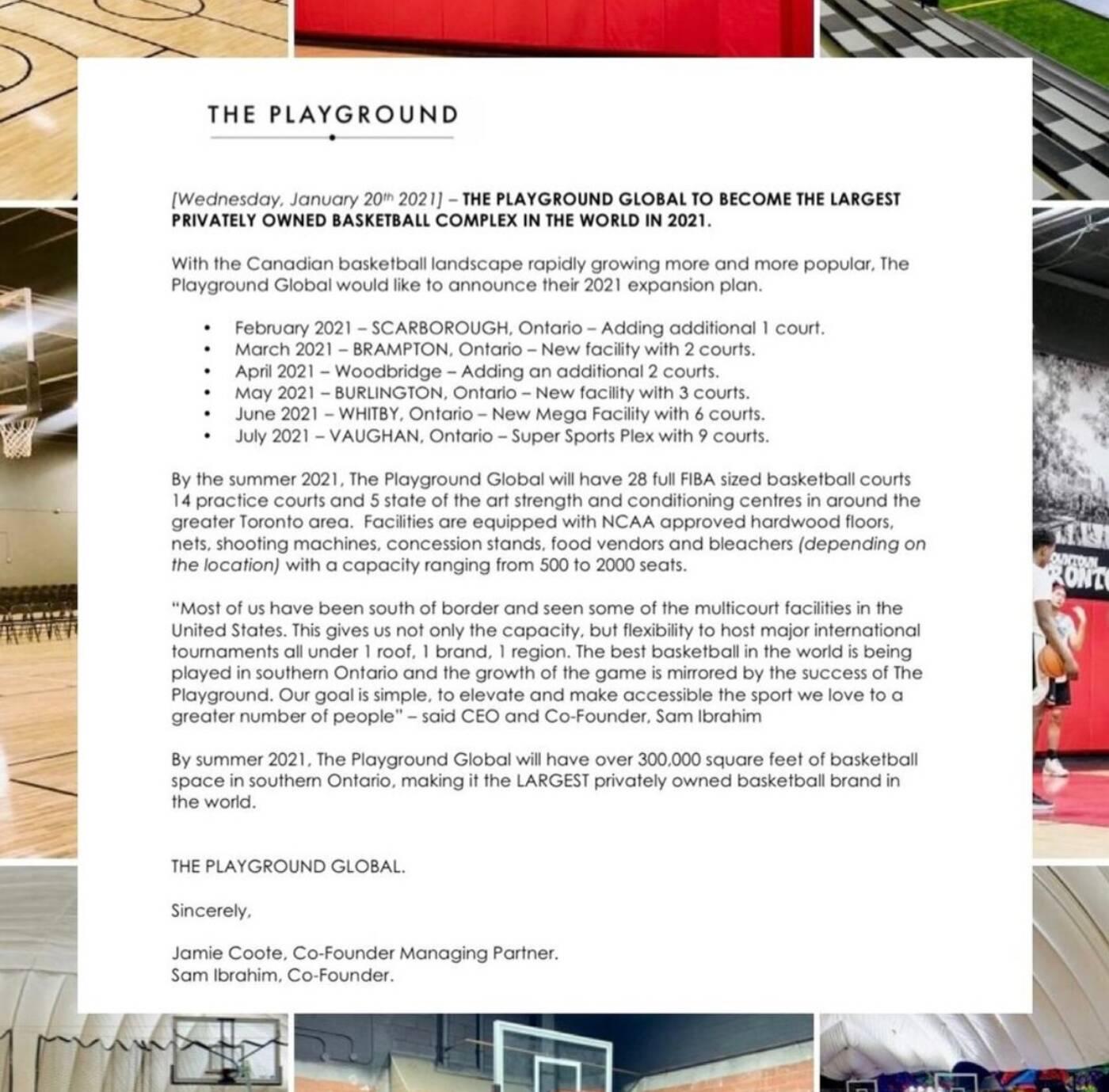 the playground basketball