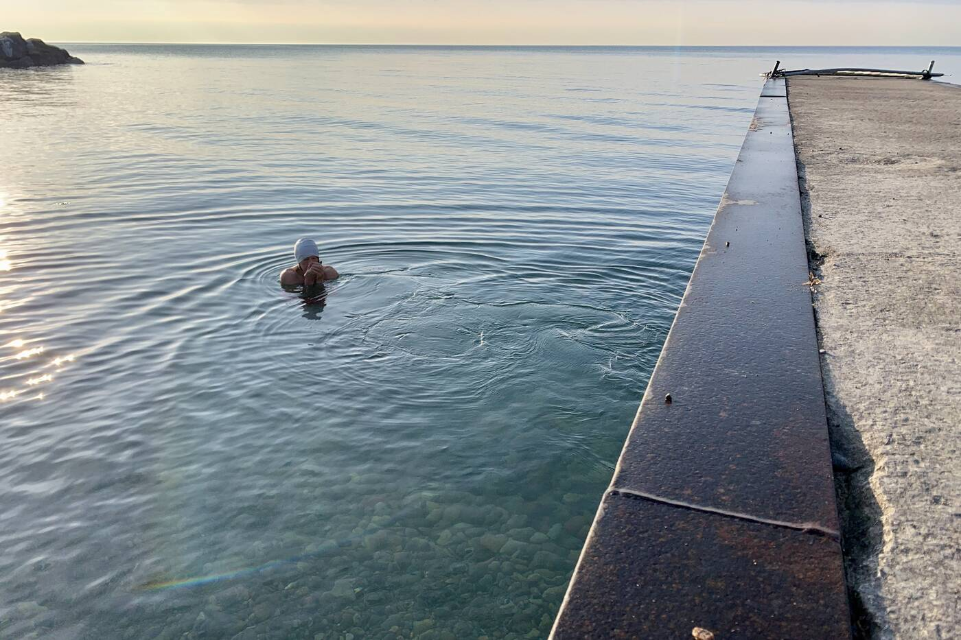 swim lake ontario