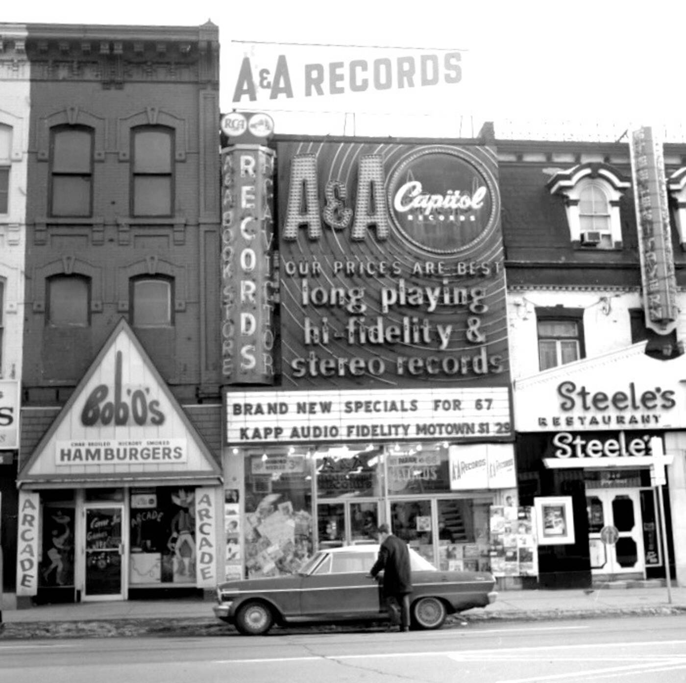 aa records toronto