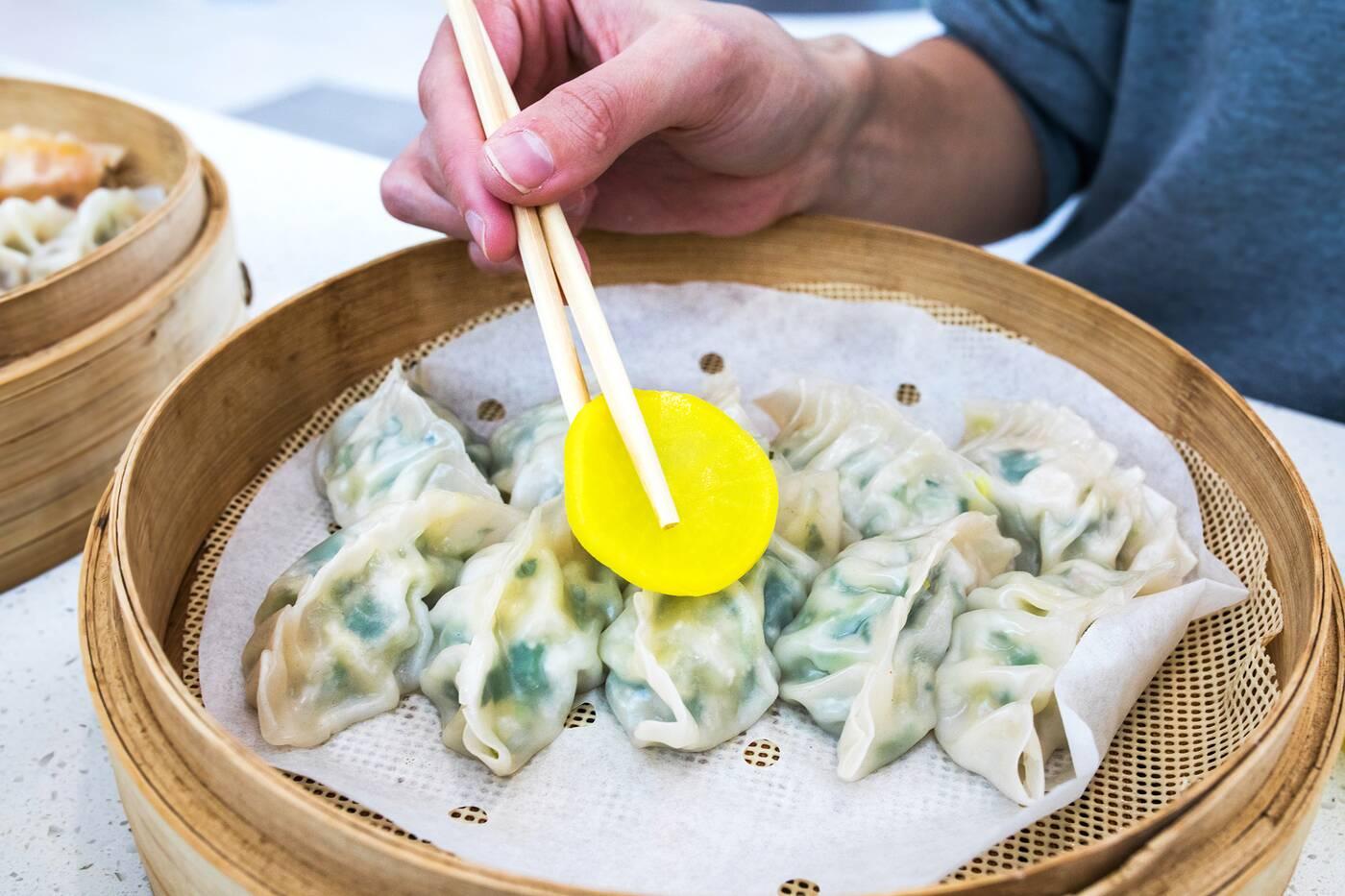 homemade dumplings goobok toronto