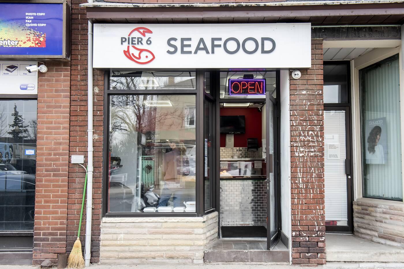 Pier 6 Seafood Toronto