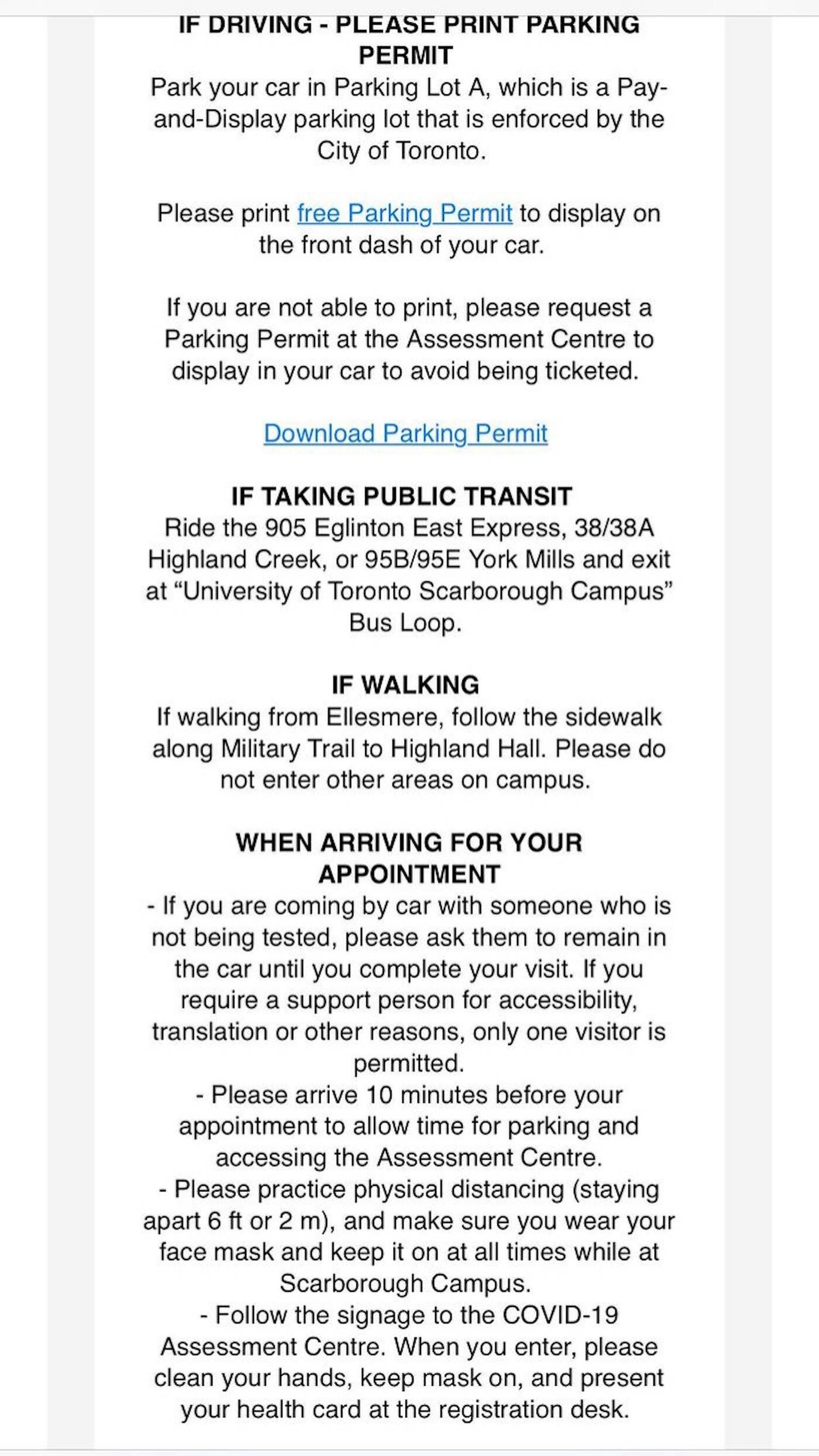 parking ticket toronto