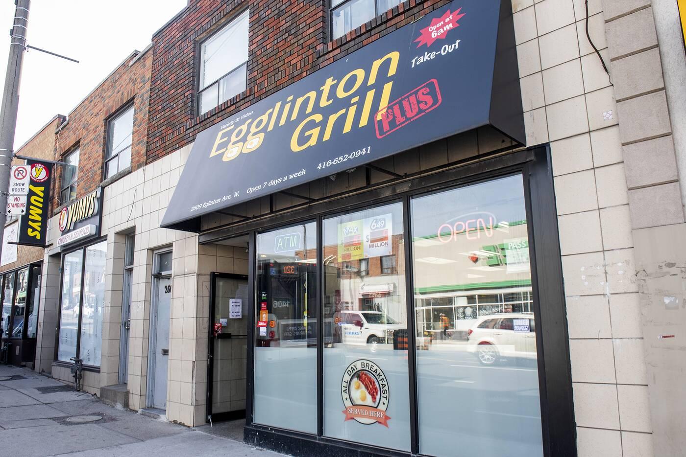 Egglinton Grill Toronto