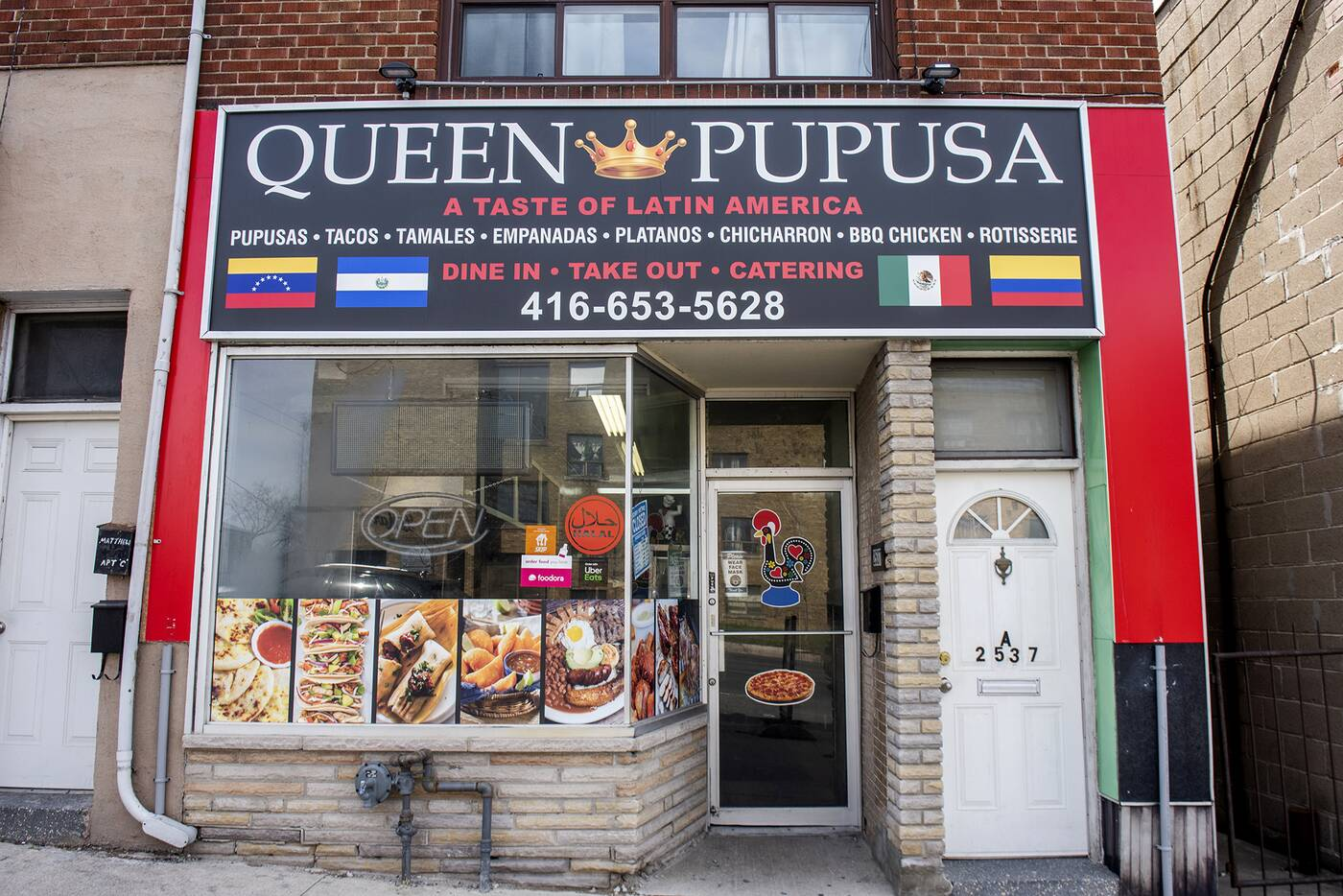 Queen Pupusa Toronto
