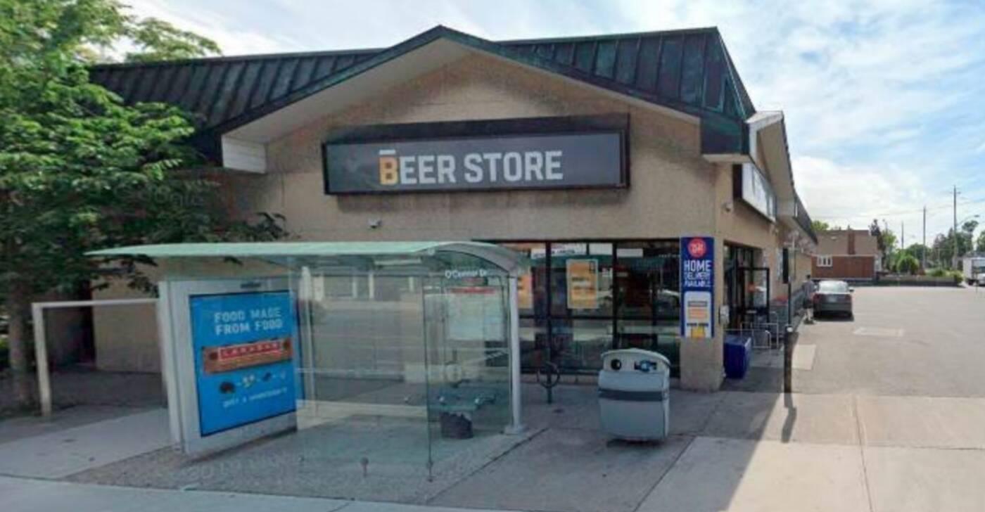 beer store closing toronto