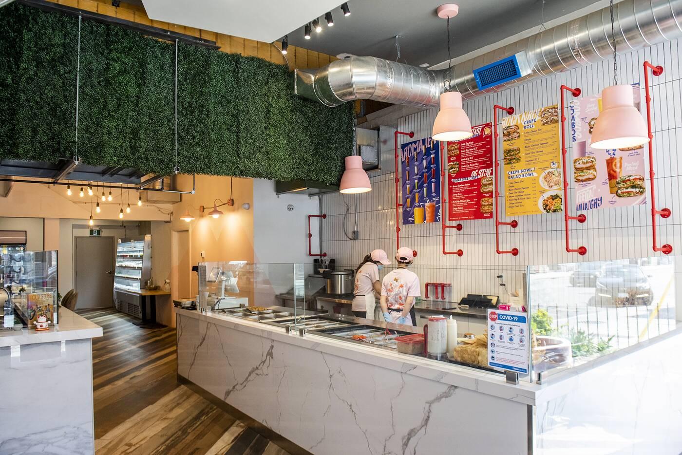 Aroma Food Hall Toronto