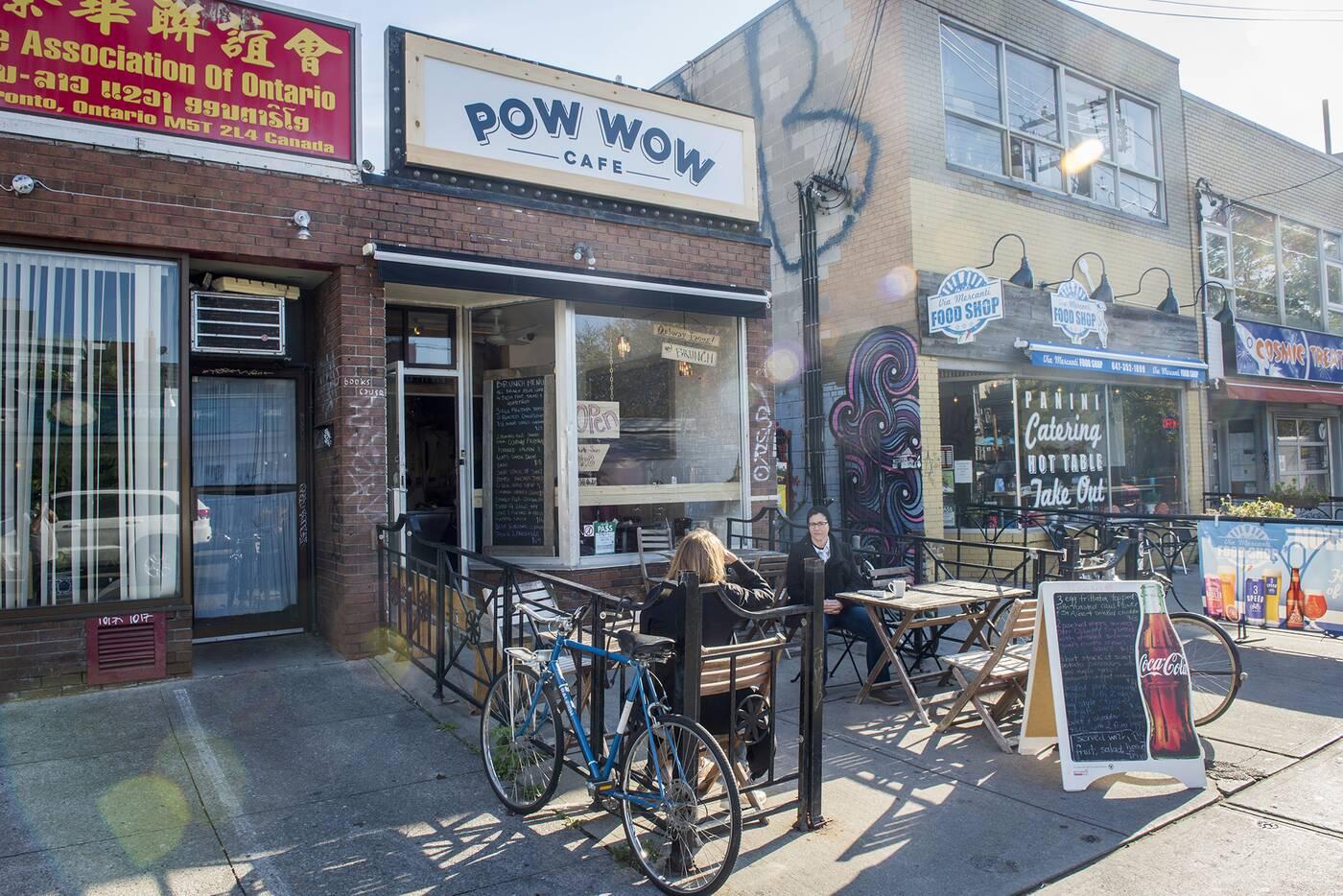 pow wow cafe toronto